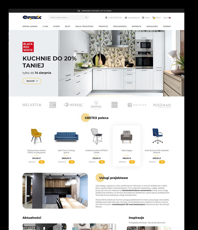 Projekty e-sklepu